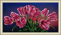 Набор для вышивания бисером Букет тюльпанов P-158