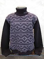 Черный свитер для мальчиков Трехнитка в школу