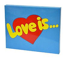 """Шоколад """"Love is"""" 20 плиток Гранд Презент 020"""