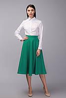 """Женская юбка """"Flora"""" с карманами зеленый, 46, фото 1"""