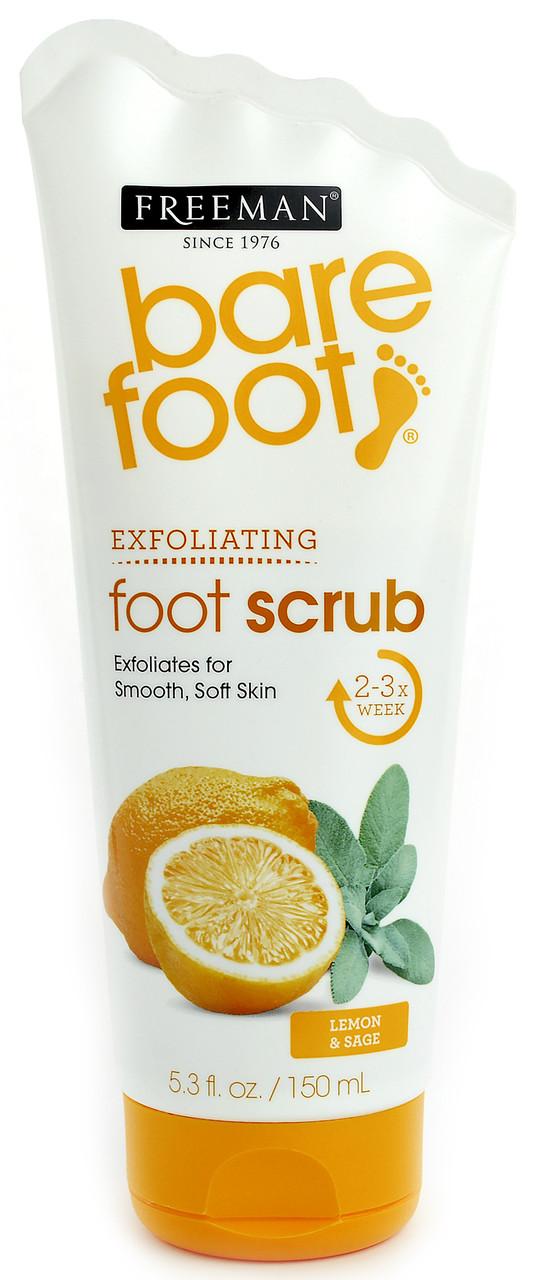 "Скраб для ног ""Лимон и шалфей"" Freeman Bare Foot Foot Scrub Lemon and Sage"