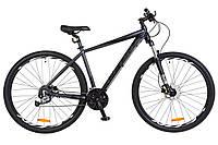 Велосипед 29-035 Leon TN-70 AM Hydraulic lock out 14G (19) чорно-графітовий
