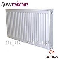 Радиатор отопления Quinn Quattro стальной панельный боковой K22 600x1100 мм.(Бельгия)2669Вт.Q22611KD