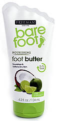 "Крем-масло для ног ""Лайм и Кокос"" Freeman Bare Foot Butter Cream Lime and Coconut"