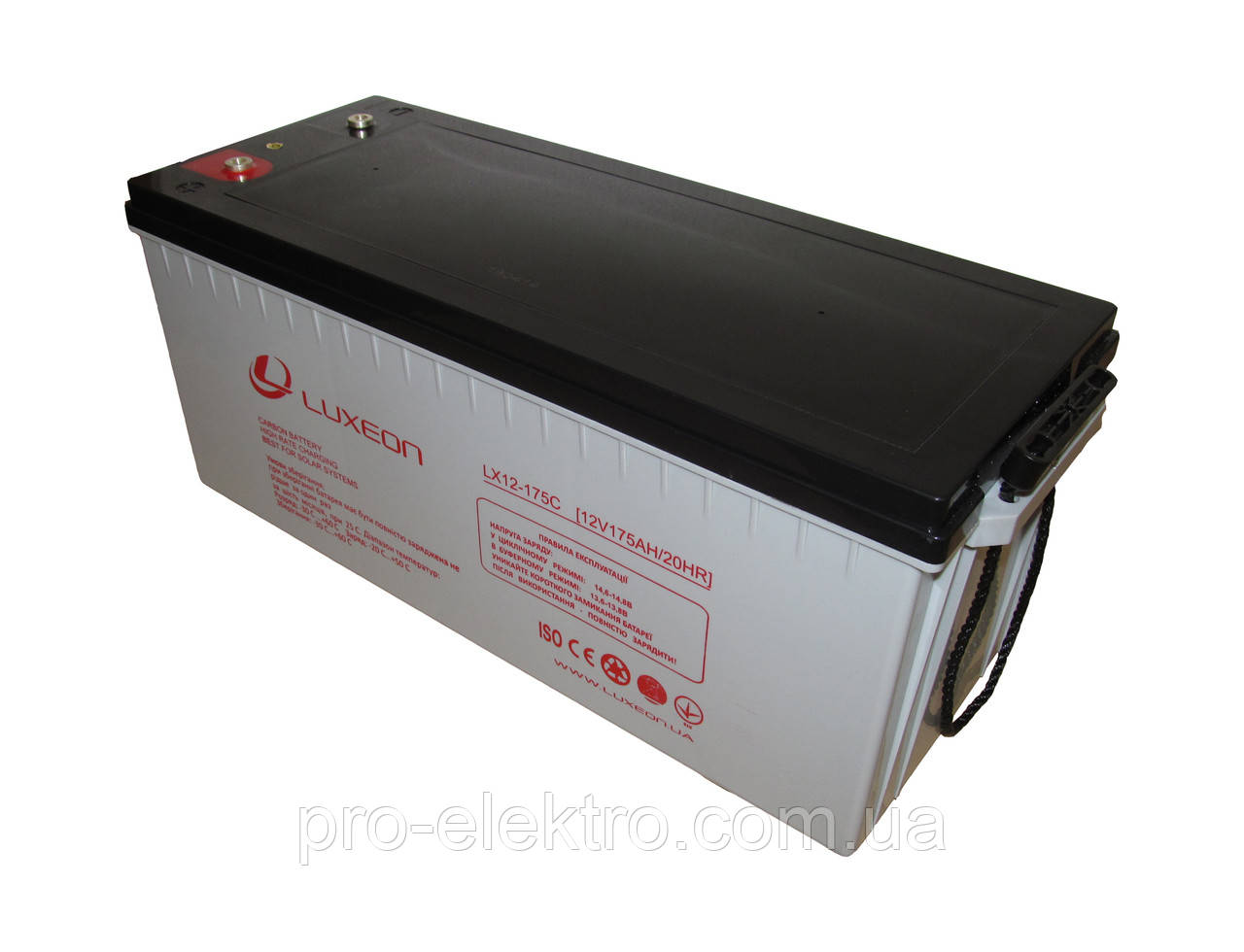Аккумуляторная батарея LUXEON LX 12-175C