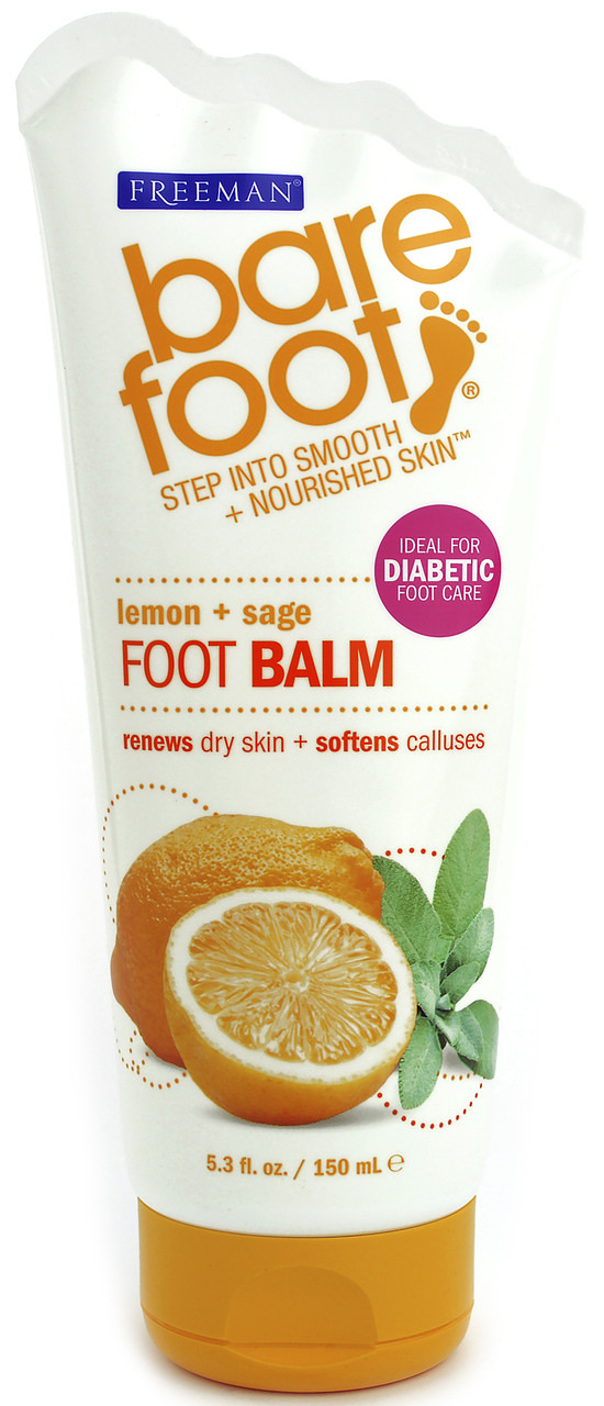 "Бальзам для ног ""Лимон и шалфей"" Freeman Bare Foot Foot Balm"
