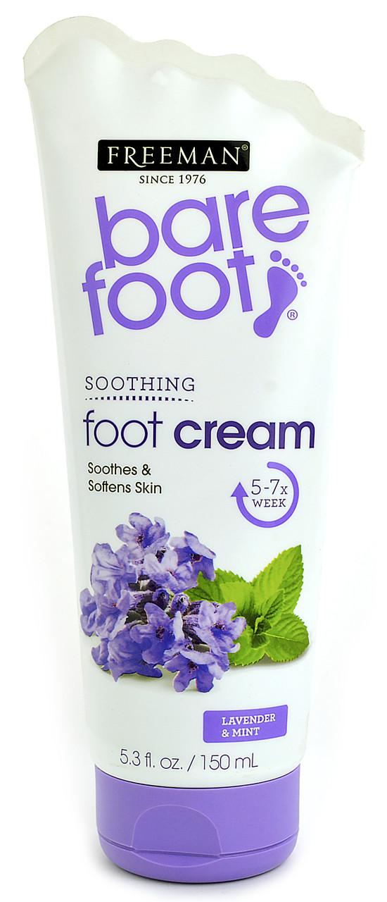 "Заживляющий крем для ног ""Лаванда и Мята"" Freeman Bare Foot Foot Cream Healing Lavender and Mint"