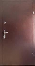Двері вхідні REDFORT Метал-Метал економ