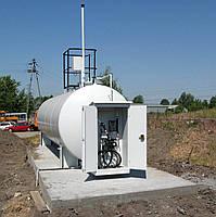 Резервуары для ГСМ (дизель, бензин)  5-50 м/куб