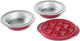 Набор форм с крышкой для пирога Nordic Ware 42315 Mini Pie Baking Kit 3 пр