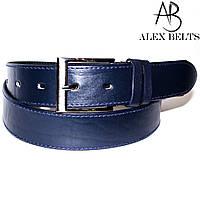 Ремень мужской джинсовый кожаный клеенный 40 мм - купить оптом в Одессе