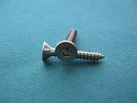 Нержавеющий антивандальный шуруп с потайной головкой, TORX+PIN