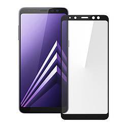 Защитное стекло для Samsung A8-2018/A530 3D Black