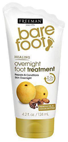 "Средство для ног ночная терапия ""Марула и масло какао"" Freeman"