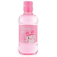 Детское полоскание для полости рта со вкусом персика Daeng Gi Meo Ri Poli Kids Gargle Peach, 260 ml