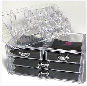 Акриловый органайзер для косметики DRESSING CASE W/4 DRAWER, фото 2
