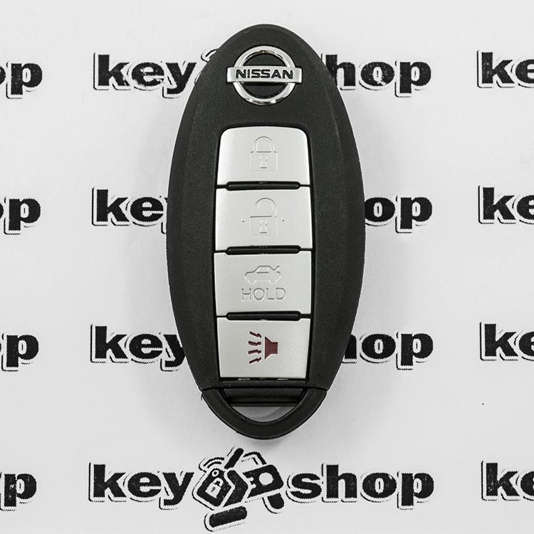 Смарт ключ для NISSAN (Ниссан) 3 - кнопки + 1 кнопка (PANIK), 315 Mhz
