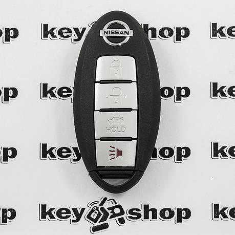 Смарт ключ для NISSAN (Ниссан) 3 - кнопки + 1 кнопка (PANIK), 315 Mhz, фото 2
