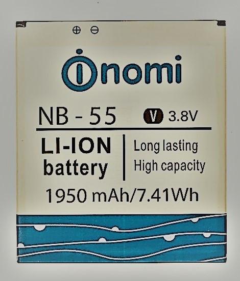 Аккумуляторная батарея nomi i505 jet NB-55