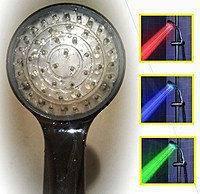 Насадка для душу з LED підсвічуванням і термо датчиком, фото 2
