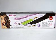 Випрямляч, прасочку для волосся YB-6316, фото 2