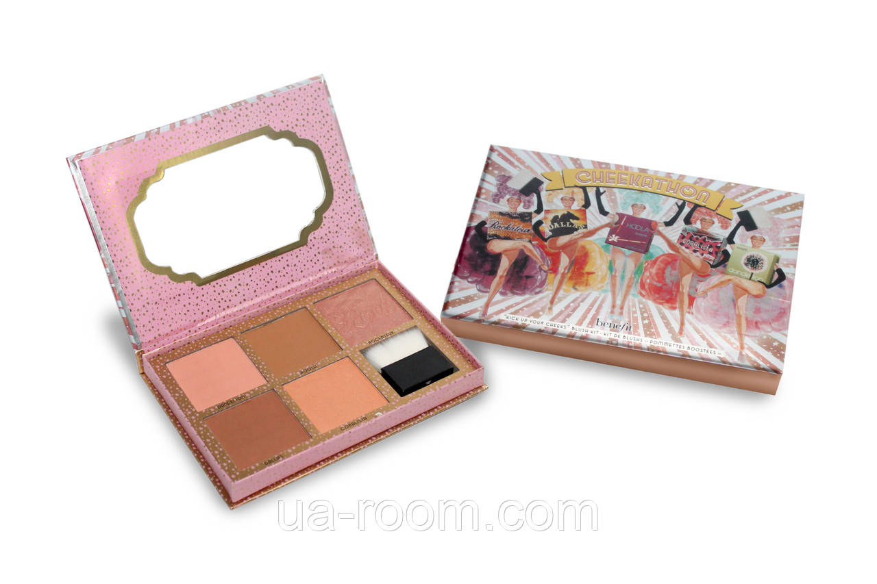 Палитра румян Benefit Cheekathon Blush Kit 5X03