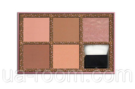 Палитра румян Benefit Cheekathon Blush Kit 5X03, фото 2