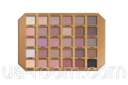 Палетка теней Too Faced Natural Love Ultimate Eyeshadow Palette T30, фото 2
