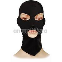 Маска из спандекса с прорезями для глаз и рта Пикантные Штучки, черная