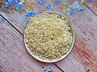 """Бусины """"Рис"""" перламутровые, 6х3 мм, цвет молочный, 10 грамм, (~420 шт)."""
