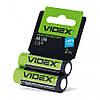 Батарейка AA/LR6 1.5V щелочная Videx 2pcs shrink card 2 шт/уп