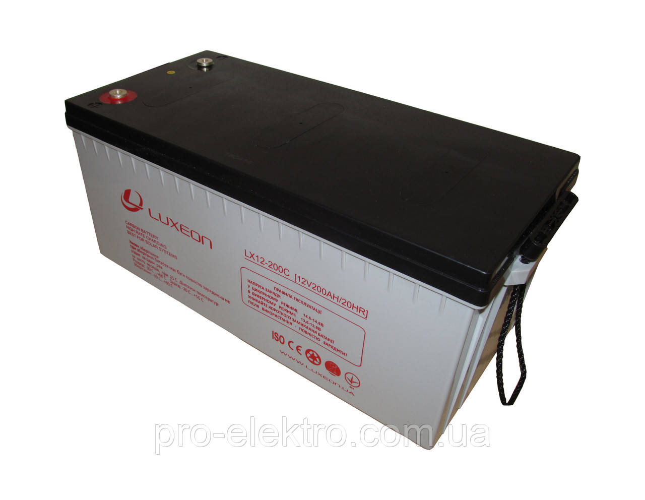 Аккумуляторная батарея LUXEON LX 12-200C