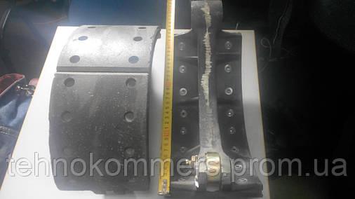 Колодка тормозная передняя в сборе FAW 3252, фото 2