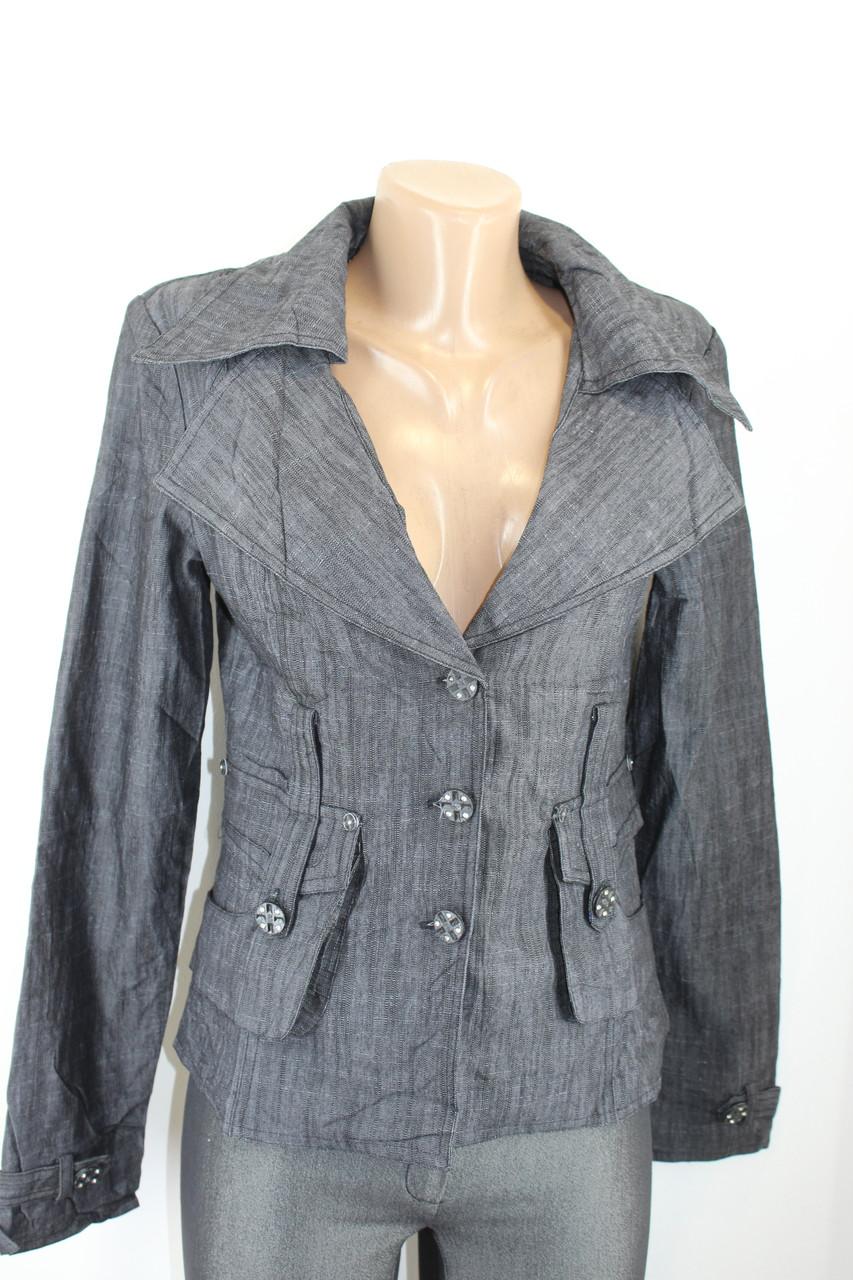 Пиджак женский джинсовый 1149 Уценка!!!