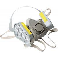 Миол 91-121 респиратор-полумаска с 2 угол.фильтрами