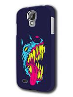 Чехол Samsung Galaxy S4 собака зубы