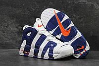 Мужские кроссовки Nike Air More Uptempo Olympic Navy Blue, фото 1