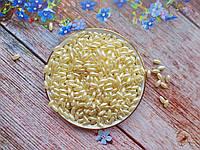 """Бусины """"Рис"""" перламутровые, 8х4 мм, цвет молочный, 10 грамм, (~180 шт)."""