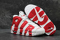 Кроссовки Nike Air More Uptempo Red White, фото 1