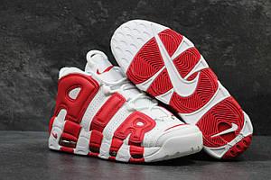 Чоловічі високі кросівки Air More Uptempo Red White