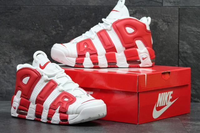 Nike Air More Uptempo Red White