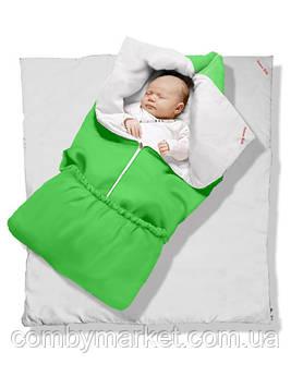 "Одеяло-трансформер ""Lime Green"" Classic, бязь, силикон 300"