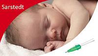 Як щадно взяти кров з вени у немовляти?