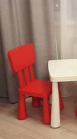 Детский стул MAMMUT красный (403.653.66)