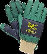 Перчатки рабочие кожаные - короткие RAWPOL - REIS Польша