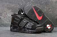 Кроссовки Nike Air More Uptempo 96 Black Suede, фото 1