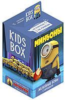Миньоны KIDS BOX - коллекционная фигурка в коробочке c драже в шоколаде Кидсбокс, фото 1