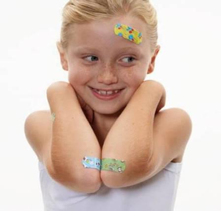 Набір пластирів для дітей 19 мм x 72 мм - 20 шт, фото 2
