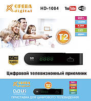 Т2 тюнер HD-1004 с поддержкой wi-fi адаптера ( OPERA DIGITAL ), фото 1