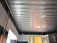 Алюминиевый реечный потолок серии КФ
